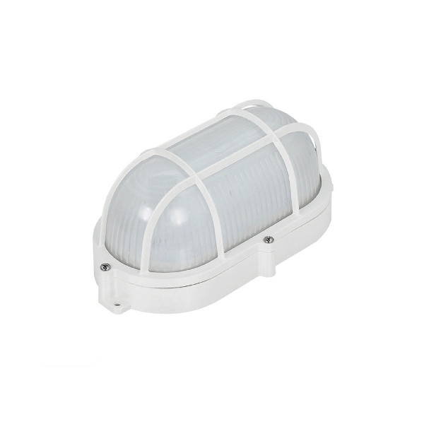 Aplique led oval con rejilla