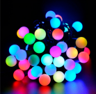 Guirnalda mini bolas led multicolor